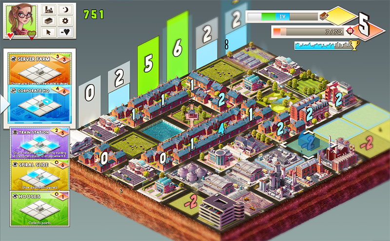Classic mode plays a lot like MegaCity.